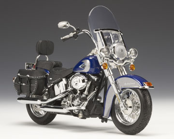 2009 H-D Heritage Softail® Classic Red Hot S