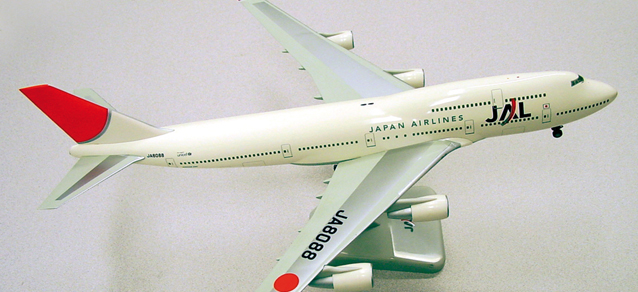 Boeing 747-400 JAL – Japan Airlines (new colors)