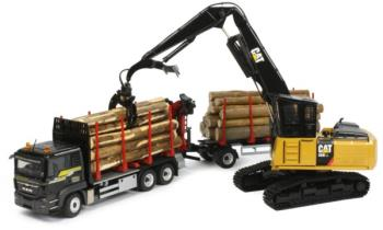 CAT 568 LL Log Loader-1