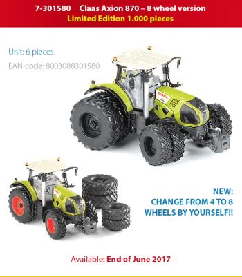 Claas Axion 870 8wheels