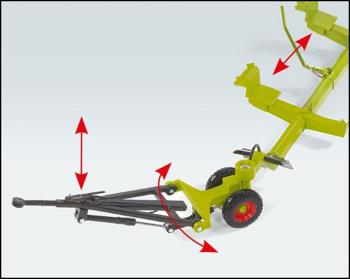 Claas Direct Disc 520 with cutting unit trolley-0