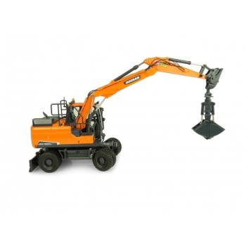 Doosan DX140w with 2 attachments-0