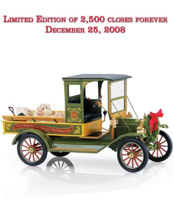 Ford Model T 2008 Christmas Truck - Limited Editio