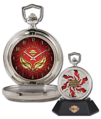 H-D® Custom Chrome Pocket Watch - Combustion