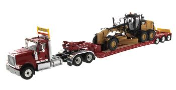 HX520 Tandem Tractor red 1:50