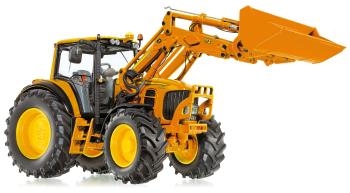 John Deere 7430 with front loader and tools  - mun-0