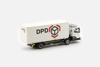 KAMAG Wiesel White with DPD Container-0