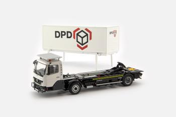 KAMAG Wiesel White with DPD Container-1