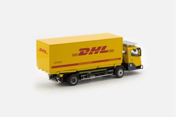 KAMAG Wiesel Yellow with DHL Container-1