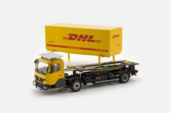 KAMAG Wiesel Yellow with DHL Container-2