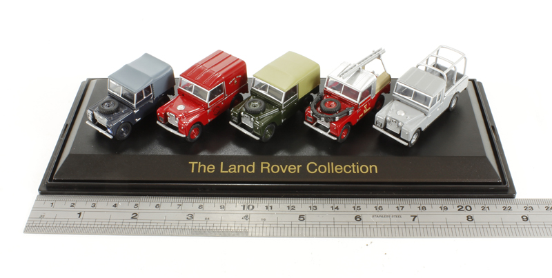 Land Rover 5er-Set: Series 1 The Land Rover Collec