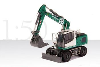 LIEBHERR A 920 Hydraulic excavator with backhoe and clamshell bucket GEORG BIEBER
