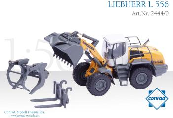 LIEBHERR L556 Wheel loader with industrial lift ar
