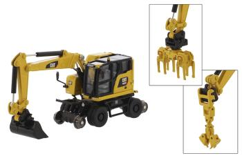 M323F Railroad Wheeled Excavator 1:87