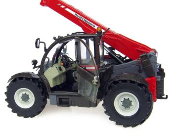 Massey Ferguson 9407 Telehandler with Bale Clamp -2