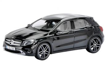 Mercedes-Benz GLA, black metallic