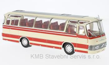Neoplan NH 9L, beige/red 1:43