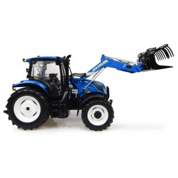 New Holland T6.145 avec chargeur 740TL-0