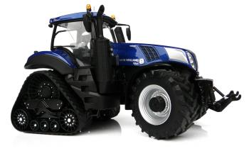 New Holland T8.435 Blue on SmartTrax-0