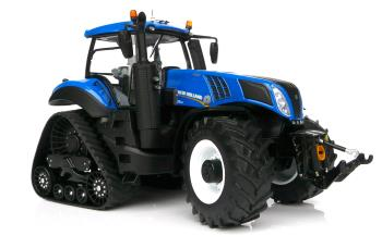 New Holland T8.435 Blue on SmartTrax-1