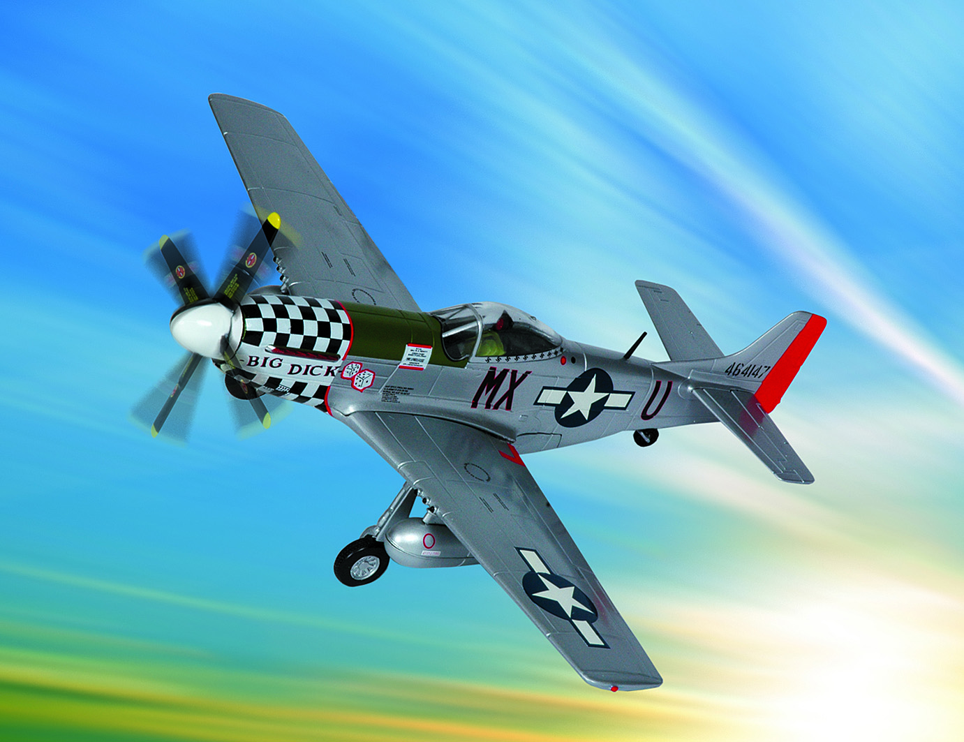 "P-51D Mustang - ""Big Dick"" Signature Edition"