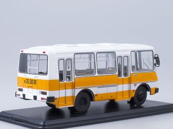 PAZ 32051, weiss/orange City Bus,-0
