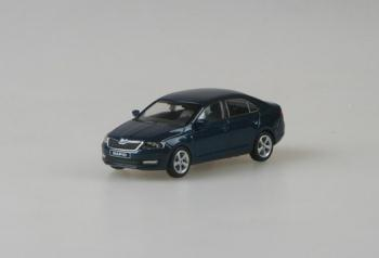 Škoda Rapid Lava Blue