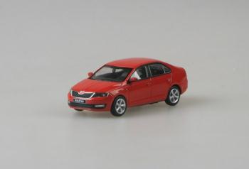 Škoda Rapid Red Corida Uni