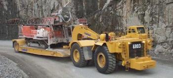 CAT 784C Tractor with Towhaul Trailer-5