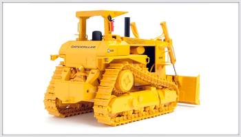 CAT D10 Track-Type Tractor w/ push blade-0