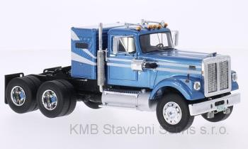 White Road Boos, metallic-light blue/white 1:43